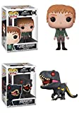 FunkoPOP Jurassic World Fallen Kingdom: Claire + Indoraptor – Figure Set New