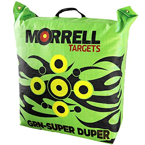 Morrell GRN Super Duper Field Point Bag Archery Target - for Crossbows and Compound Bows 400FPS