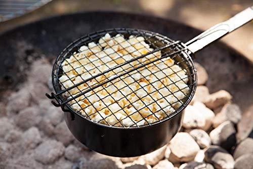 Esschert Design Popcorn-Pfanne für Grill und Lagerfeuer - 2