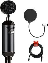 Blue Blackout Spark SL XLR Condenser Microphone with Pop Filter & 20' XLR Cable