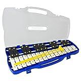 Percussion Workshop metalófono Note KB27 27 se envía en funda para navegador GPS introductoria precio bajo 2 baquetas -!