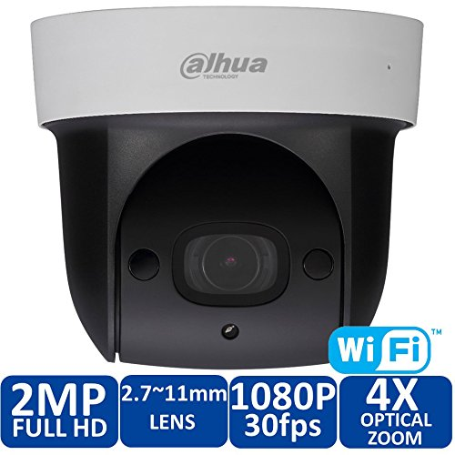 Hot verkoop wifi Dahua 2Mp net mini IR PTZ kap wifi IP snelheid koppeling 4x optische zoom SD29204S-GN Engels firmware SD ingebouwde microfoon DH-SD29204S-GN-W