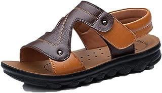 Kids Sport Sandals Sneakers Hook&Loop Peep Toe Non Slip Rubber Sole Outdoor Walking Shoes(Toddler/Little Kid)