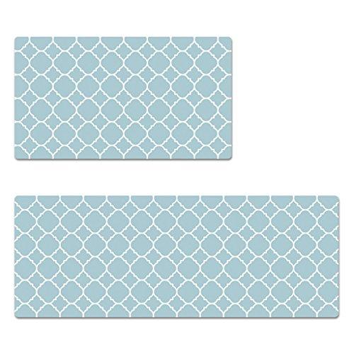 WTL Imperméable à l 'eau et anti - salissures Séries Proof Tapis enfants Tapis antidérapant en PVC Tapis spéciaux Tapis ( Couleur : Bleu , taille : 120*45cm )