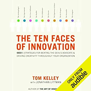 The Ten Faces of Innovation  cover art