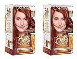 Garnier Belle Color C6063174 Les Châtains Eclat 6.41 Très Clair Cuivré Sage Coloration - Lot de 2
