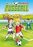 Buntes Malbuch Fußball: Training, Spiel, Fans und Pokale (Malbücher und -blöcke)