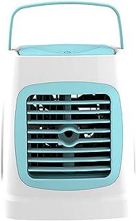 YCEOT Enfriador, Mini USB Aire Acondicionado Aerosol Humidificador Ventilador Enfriador de Aire portátil Refrigerador de Aire