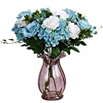 Anyi Simulation Bouquet 11 Stems Artificial Silk Flower Living Room European Style Flower Office Decoration Artificial Flowers