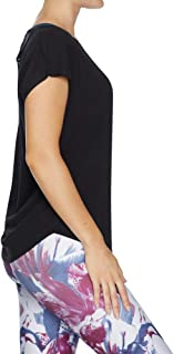 Rockwear Activewear Women's Balance Macrame Back Tee from Size 4-18 for T-Shirt Tops