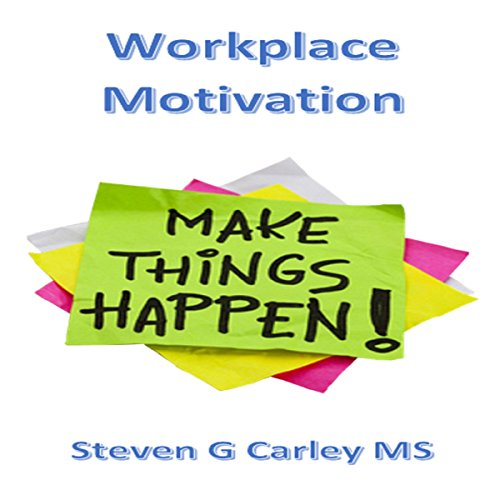 Workplace Motivation audiobook cover art