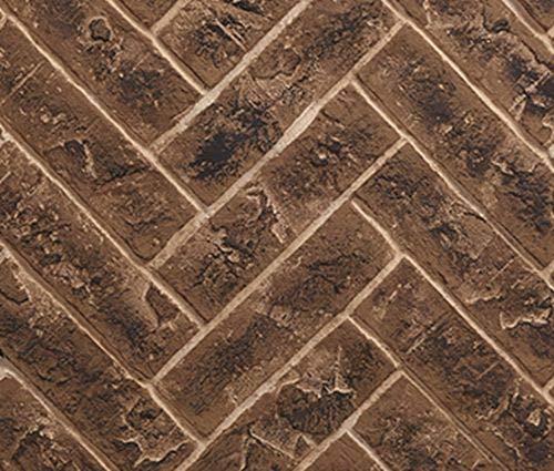 Great Features Of Monessen 36 Herringbone Interior Brick Panel in Brown for Meridian Fireplaces