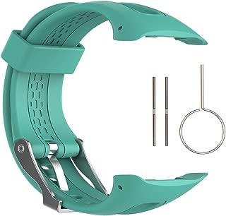 QGHXO Band for Garmin Forerunner 10/15, Soft Silicone Replacement Watch Band Strap for Garmin Forerunner 10/15 GPS Watch