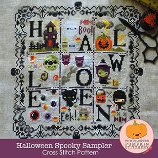 Halloween Spooky Sampler Cross Stitch Chart