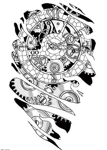 Roboterarm TATTOO Biomechanik-TATTOO Oberarm Tattoo Arm Tattoo TH511