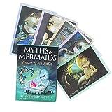 Mits Mermaids Adivinación Tarjetas Tarot Tarjetas Daily Guidance Angel Tarjetas, tarjetas de tarot de Oracle Tarjeta de juegos de mesa de fiesta