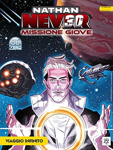 Fumetto Nathan Never - Missione Giove N° 4 - Sergio Bonelli Editore - Italiano