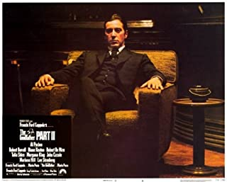 Godfather, Part 2 POSTER Movie (1974) Style B 11 x 14 Inches - 28cm x 36cm (Dominic Chianese)(Frank Sivero)(Gianni Russo)(...