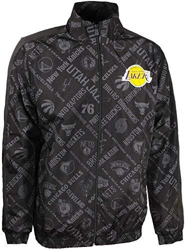 New Era NBA AOP Track Jacket Loslak Jacke L Schwarz