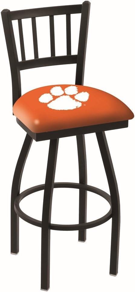 Clemson Tigers HBS Orange Jail Back Top High Bar Se Swivel Max 43% High order OFF Stool