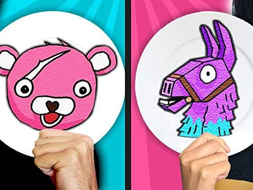 Fortnite Pancake Art Challenge, Learn How to Make Llama & Pond Monster in Real Life DIY Pancake