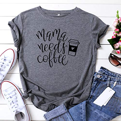 (50% OFF Coupon) Mama Needs Coffee T-Shirt $11.90