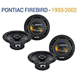 Compatible with Pontiac Firebird 1993-2002 Factory Speaker Upgrade Harmony (2)...