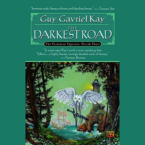 The Darkest Road audiobook cover art