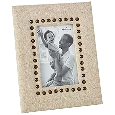 Linen and Copper Picture Frame, 4x6 Picture Frames