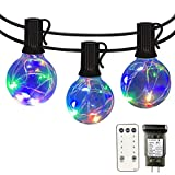 Patio Led String Lights Outdoor - IELECMG 34.4 FT G40 Globe Led String...