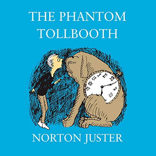 The Phantom Tollbooth audiobook cover art