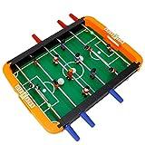 Juego de futbolín, juego portátil mini tablero de futbolín, Mesa de fútbol para niños, Juego Mesa de Fútbol