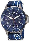 Nautica Cocoa Beach Reloj de hombre cuarzo 43mm correa de nylon NAPCBS903