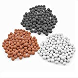 VEY14 Replacement Anion Mineral Beads Stones Balls for Filter Showerhead 3 Kinds (Diameter 7-8mm)