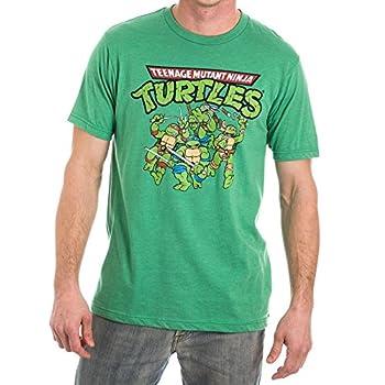 Teenage Mutant Ninja Turtles TMNT Men s Green T-Shirt Tee Shirt-Large