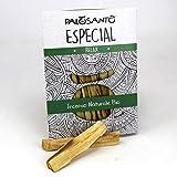 Palo Santo legnetti Especial - Paletti Grandi - Aroma Intenso - Incenso Naturale Ideale per profumare la casa, purificazione Ambienti, Yoga e Meditazione - Confezione da 5 Paletti