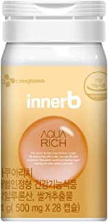 CJ Cheiljedang Innerb Aqua Rich Premium Line Inner Beauty Care 14g 500mg × 28 Capsules for 2-Weeks Program | Brand New Officially Released | Aluminum Case