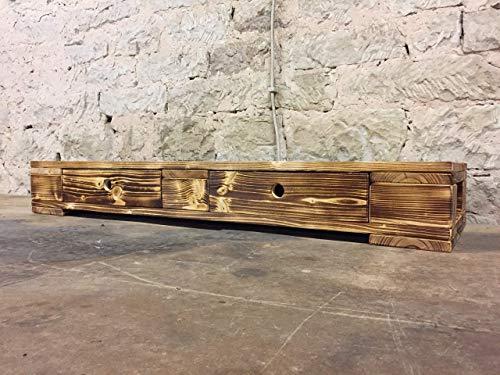 """Sideboard Lowboard Palettenmöbel TV/Möbel """"Bari"""" aus Paletten Branding Schubladen"""