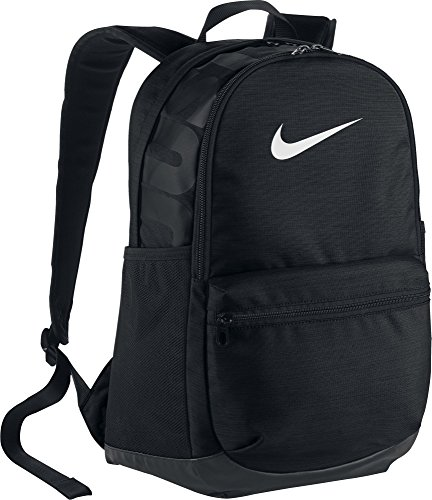 Nike Brasilia Training Rucksack, Black/White, 45,5 x 30,5 x 18 cm