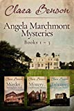 Angela Marchmont Mysteries: Books 1-3 (The Murder at Sissingham Hall, The Mystery at Underwood House, The Treasure at Poldarrow Point) (An Angela Marchmont Mystery Boxset Book 1) (English Edition)