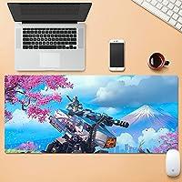 パイオニアマウスパッド特大ゲーミングキーボードパッドコンピューターノートブック防水を見る-style06||800x300mm