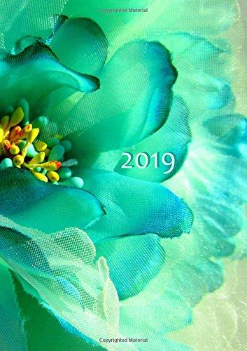 Kalender 2019 - Flower Power: DIN A5, 1 Woche auf 2 Seiten