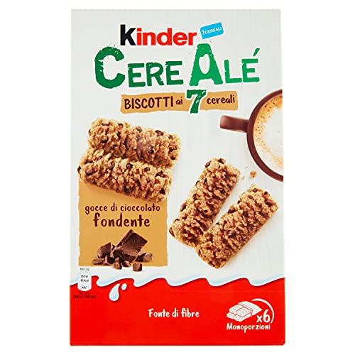 Kinder Cerealé Biscotti ai Cereali con Cioccolato, 204g