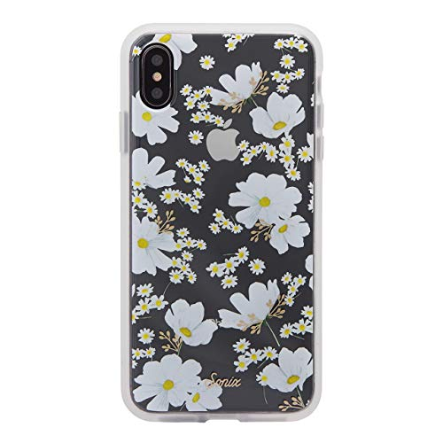 Sonix Ditsy Daisy (White Flowers) Protective Clear Case for Apple iPhone Xs Max (Renewed)