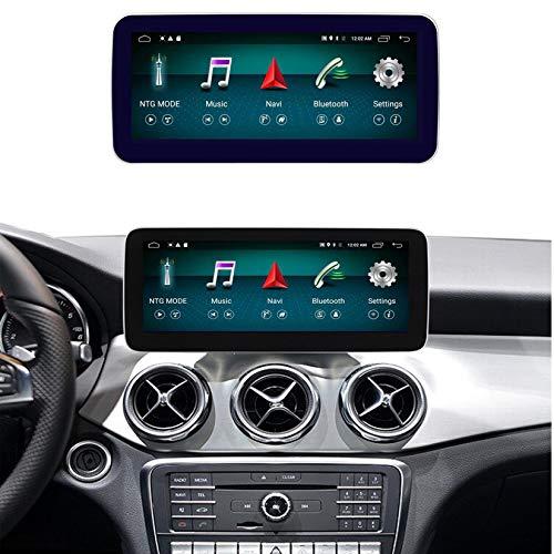 Android Autoradio Pantalla Tactil para Coche Built-In Wireless Carplay 10.25/12.5 Pulgadas Táctil GPS Navegación Car Audio Player Radio para Mercedes Benz C Class W205 2014-2018,N200