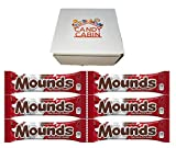MOUNDS Dark Chocolate and Coconut 1.75 Oz Candy Bar, Multiple Pack Box By CANDY CABIN (6 Pack)