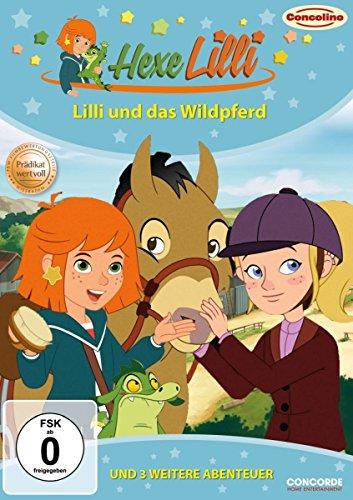 Hexe Lilli - Lilli und das Wildpferd und 3 weitere Abenteuer