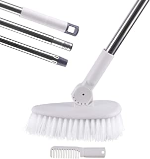 MEIBEI Tub & Tile Scrub Brush with Long Handle- 53