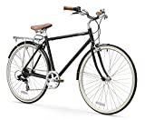 FIRTH SPORTS Captain Men's Aluminum 7 Speed City Bicycle