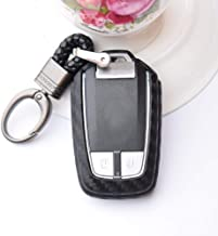 Generic Carbon 2 Buttons Silicone Protecting Remote Key Case Cover Fob Holder for Isuzu D-max/Mu-x 3.0 / X-Series Smart Key